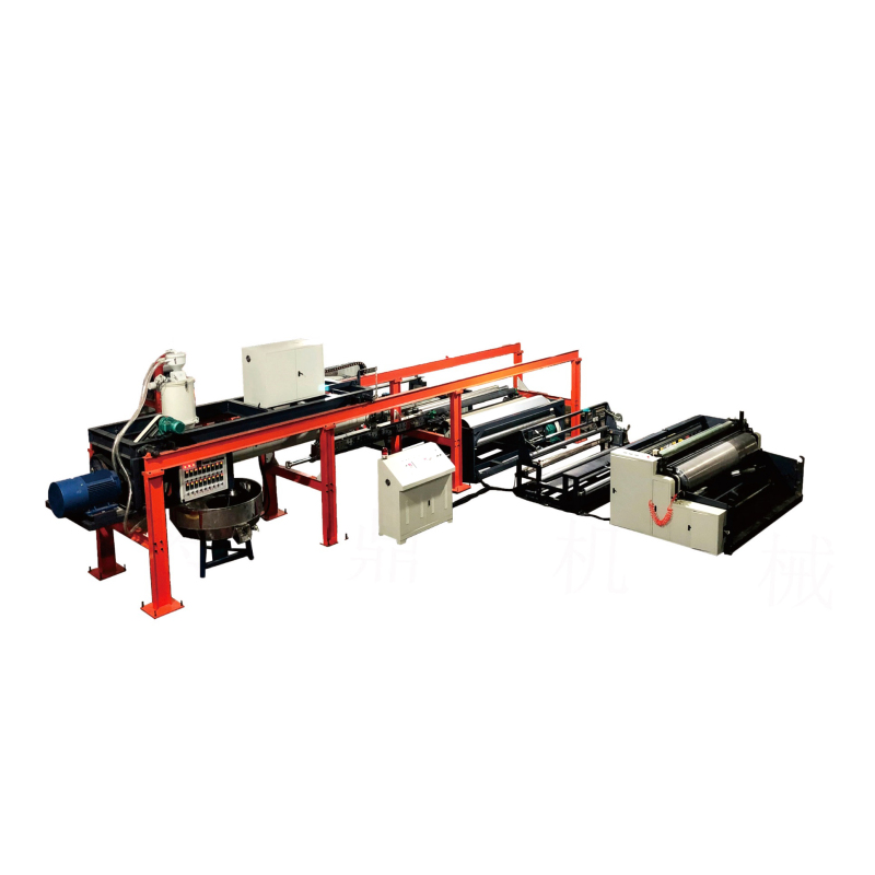 Automatic pp woven fabric bag paper coating lamination machine plant