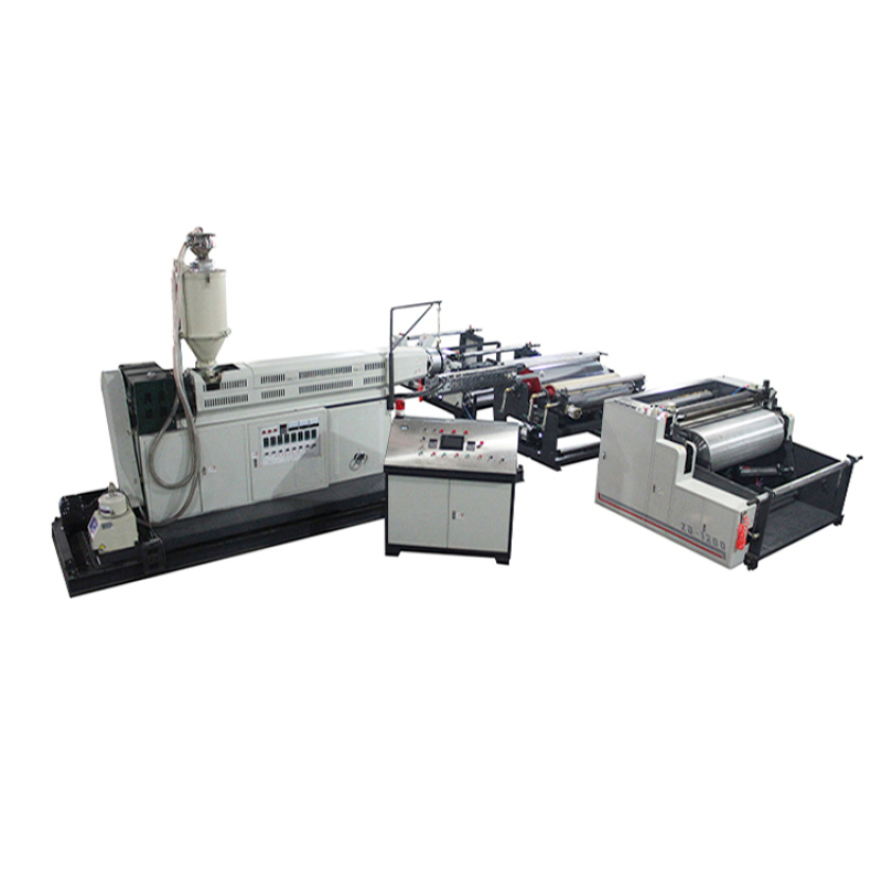 Industrial woven fabric lamination machine for pp woven bag with BOPP film