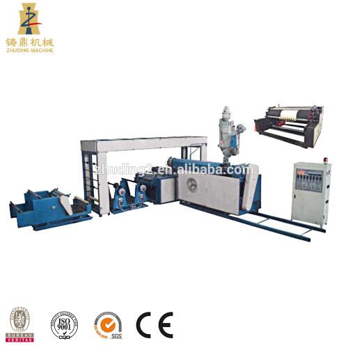 ZHUDING Full automatic non woven fabric laminating machine, BOPP film with pp woven fabric lamination machine