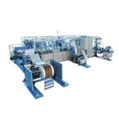 Zhuding lock bottom pp woven cement valve packing bag making machine