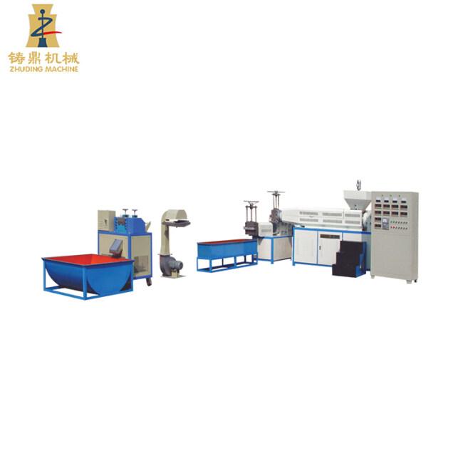 High speed circulation granulator