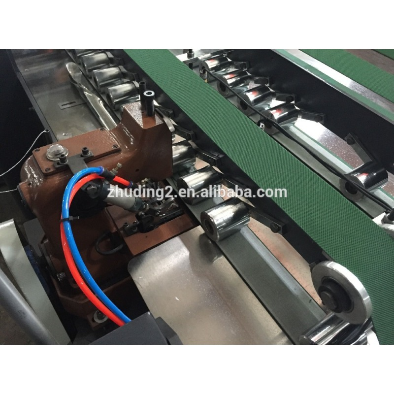 Automatic non woven bag cutting and sewing machine