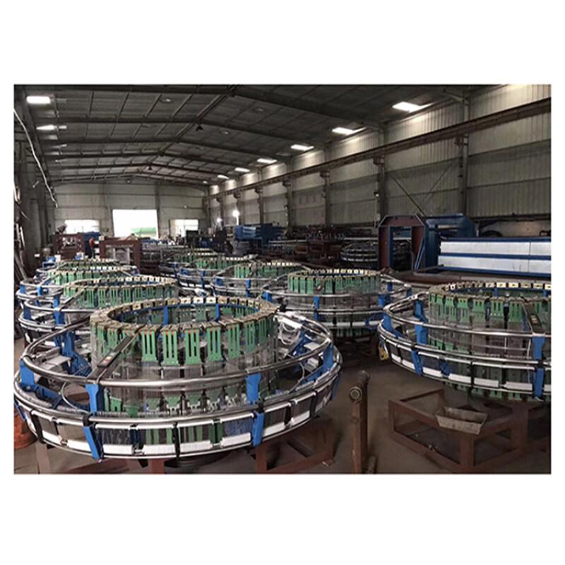 High speed rice bag 4 shuttle circular loom for polypropylene woven bags