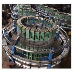 High efficiency CE standard four shuttle plastic circular loom