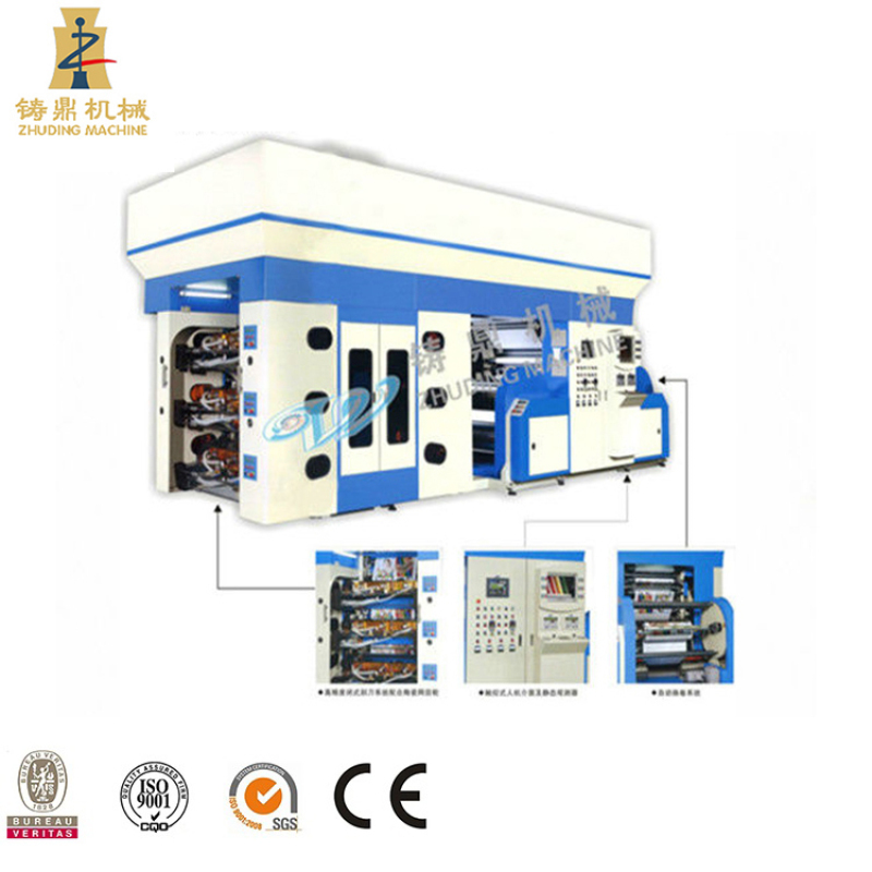 Drive PLC Control Flexo Print Machine 8 color prices