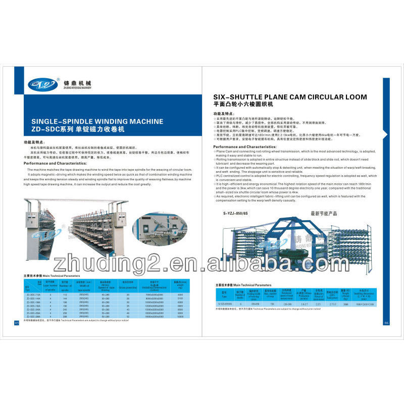 China new type PP woven bag production line
