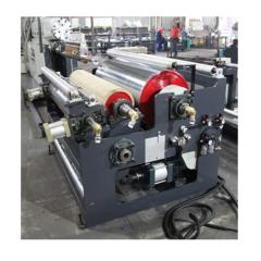 Zhuding small automatic hot melt fabric laminating machine for paper