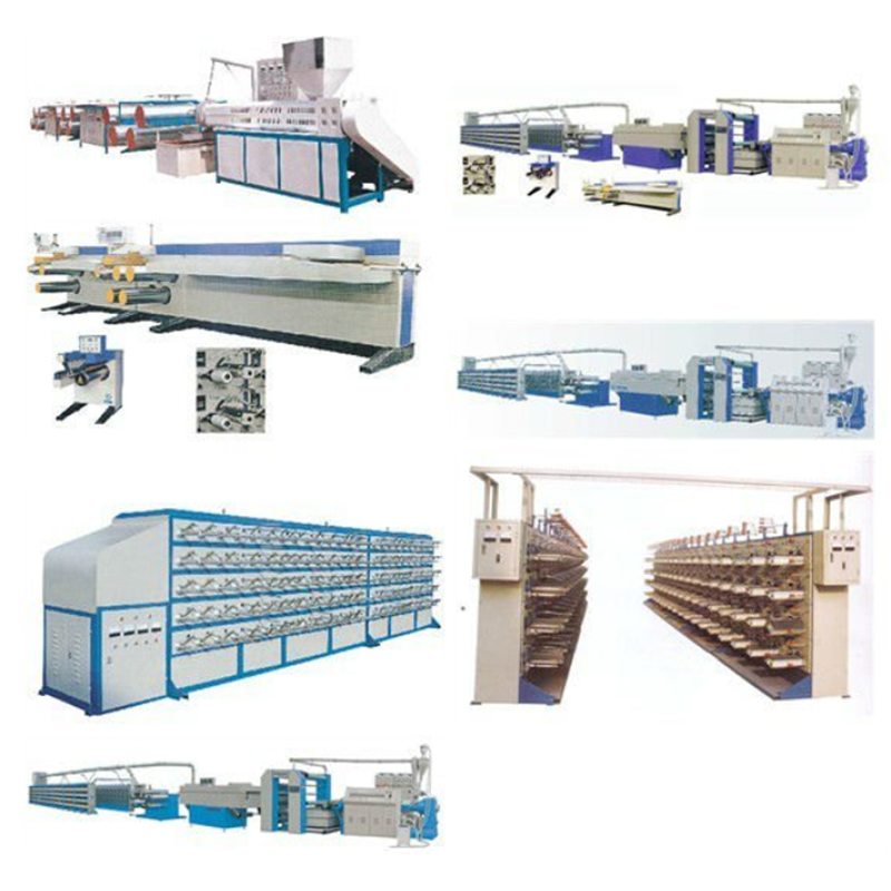 PP woven non woven fabric non woven laminating machine price