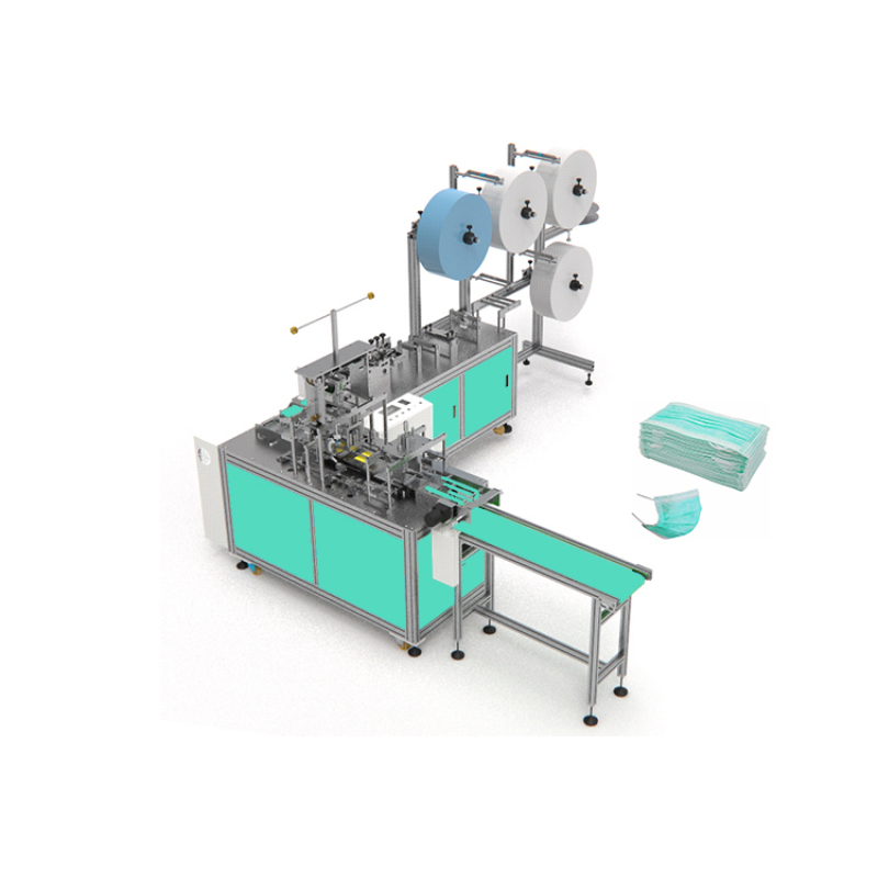 Full automatic non woven face mask making machine