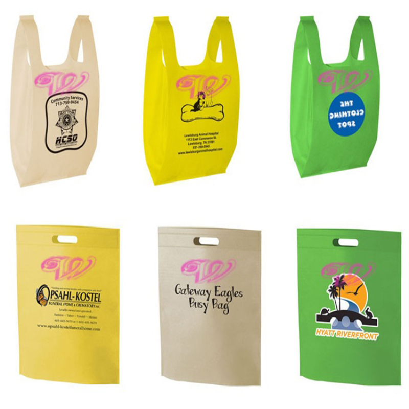 Good price non woven fabric shopping bag making machine
