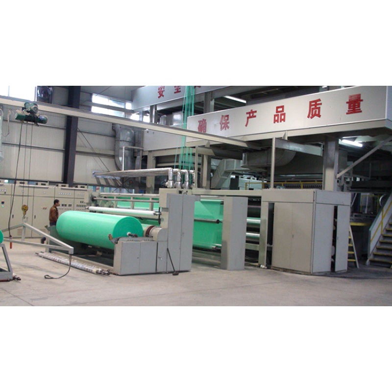 Fully-automatic equipment for meltblown cloth production line