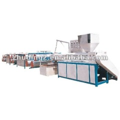 High speed plastic flat yarn/ drawing tapes extrusion machine line , PP,HDPE