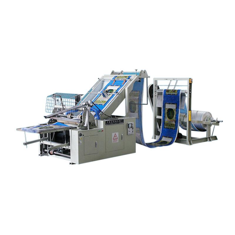 Plastic woven automatic cold / hot bag machine