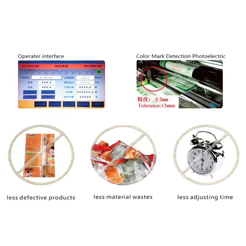 Zhuding industry pp woven sack thermal laminating bopp film coating machine