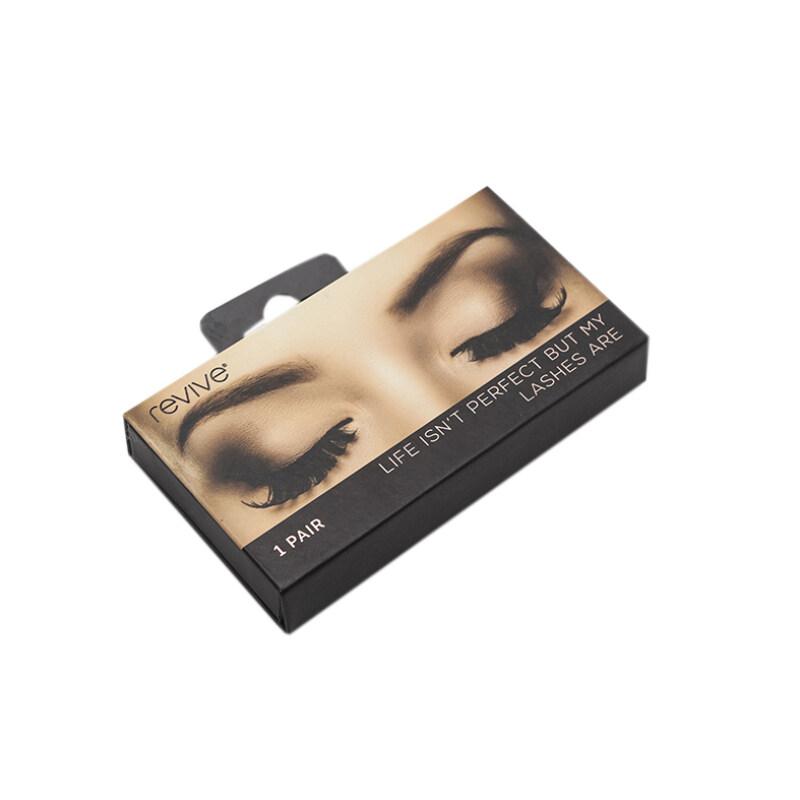 Makeup box with customized logo luxury false eyelashes packaging