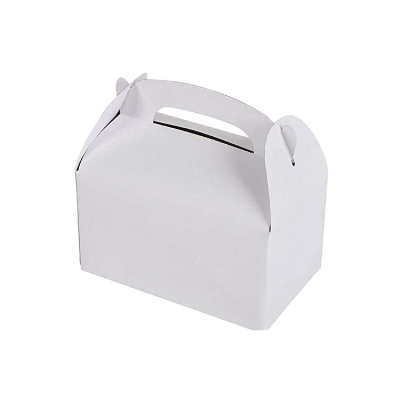 Customizable mini cake biscuit disposable paper box color firm paper boxes for cakes