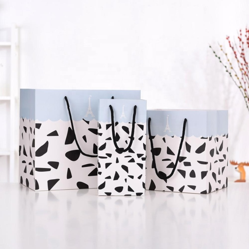 Factory price craft shopping large small gift paper bag