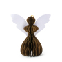 Exquisite cartoon Christmas party decoration paper angel shaped honeycomb ball