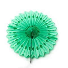 JIELAI customizable wedding festive pink blue green white paper fan decorations