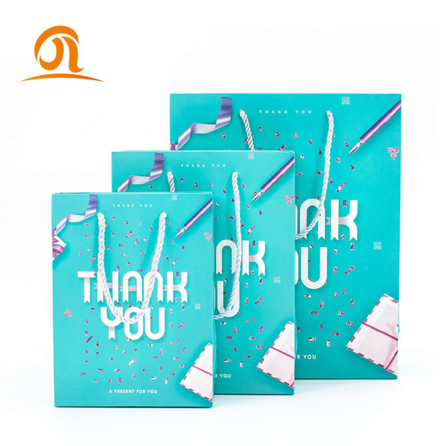Luxury Custom Famous Brand Logo Printed Craft Shopping Paper Bag With Offset Printing