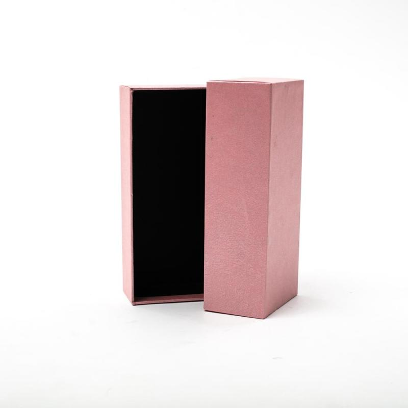 Factory Cheap OEM Cardboard Packaging Paper Box Pink World Cover Gift Box