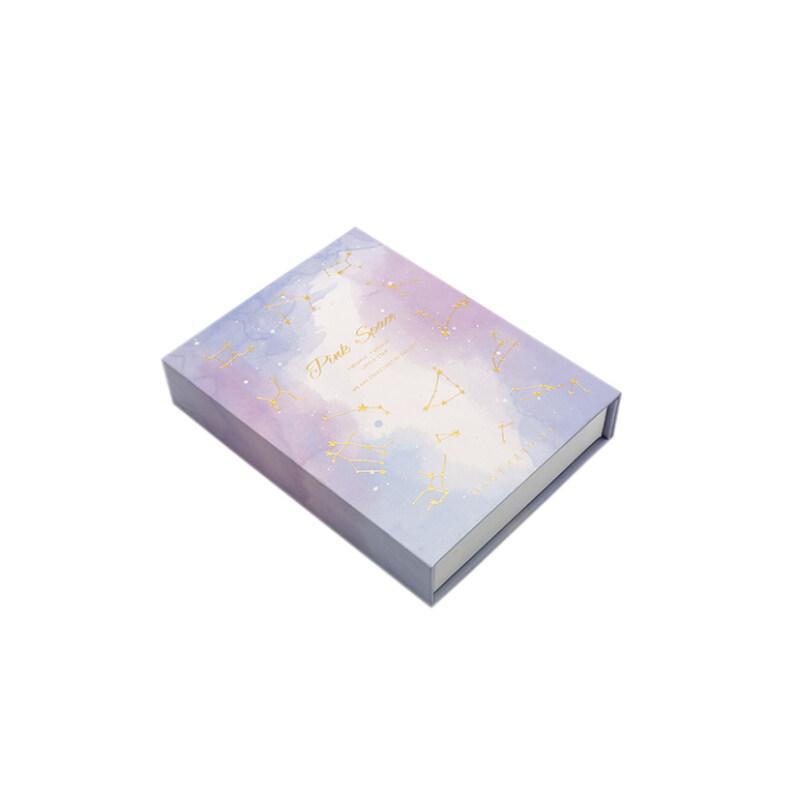 Customized birthday gift giving fantasy purple girl likes high quality gift box cardboard box