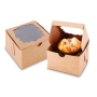 Teacher s Day Thanksgiving Day Valentine s Day Sweet Waffle Box Cheese Cake Protection Kraft Box