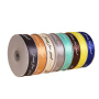 Each roll of pure color double sided ribbon is suitable for DIY hair accessories ribbon decoration