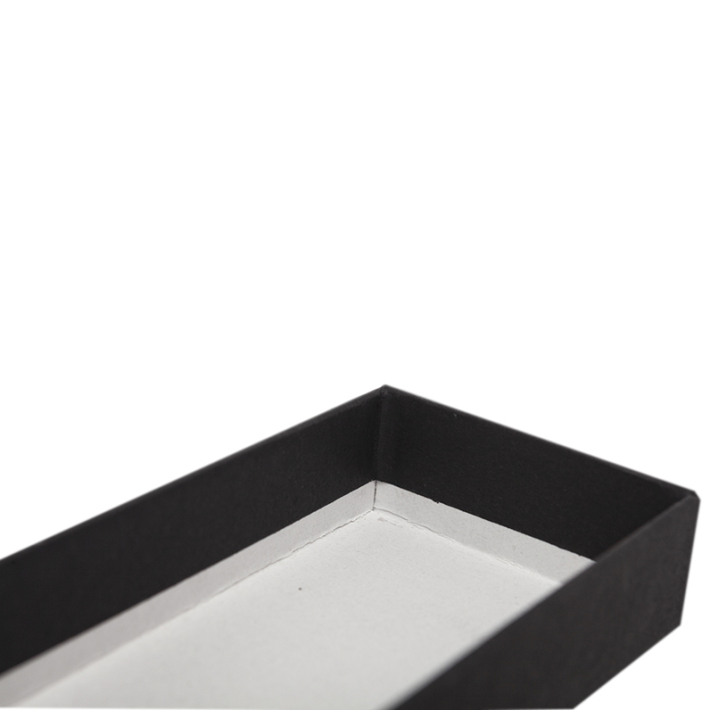 Paper Cardboard Customized Luxury Black Stationery Packaging Small Jewelry Gift Box