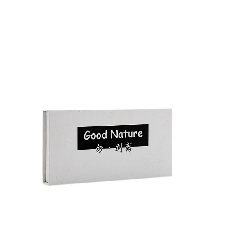 Custom logo printing recycled cardboard white packaging magnetic seal luxury paper gift box