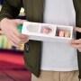 Caixa Free Sample Custom Luxury Paper Box For 6 Macaron Chocolate Candy  Snack packing Karton