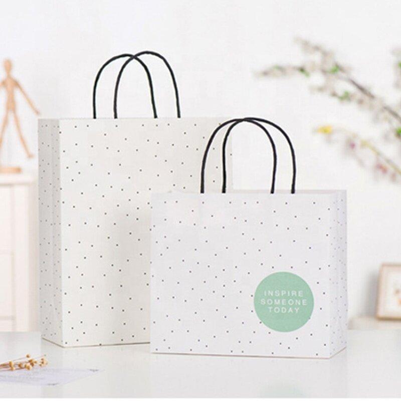 Custom craft shopping large small paper kraft bag