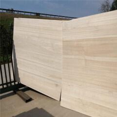High Quality Paulownia Edge Glued Board Rectangular Board Solid Wood Board for Desk Top 1600*600mm Customized