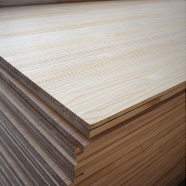 Solid Pine Board Pine Wood Board Edge Glued Board for Door Frame High Quality Factory Supply