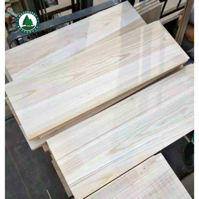 Shantong Paulownia Edge Guled Board High Quality Kiri Wood Panel