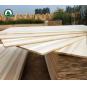 Solid Wood Board Poplar Board Poplar Edge Glued Panels for Furniture