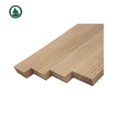 Solid Red Oak Wood Board S4S Board
