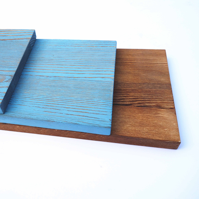 3-tier Colorful Painted Wooden Storage Panel