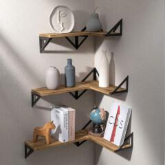 Floating Shelves Wall Mounted, Rustic Wood Wall Shelves