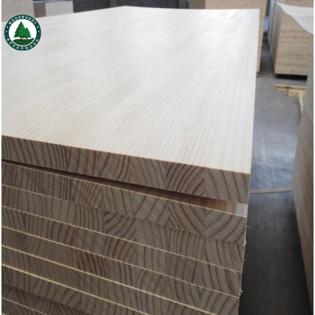 Mogolian Scotch Pine Wood Board Solid Wood Board Pine Wood Factory Supply