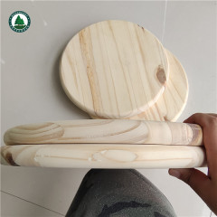 Round Radiata Pine Wood Panel Finger Jointed for Desk Top