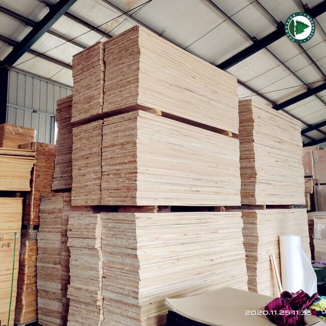 Rustic Chinese Paulownia Wood Board For Furniture Use