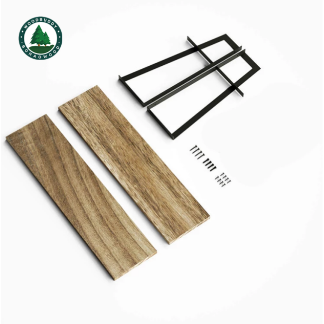 Bohao Wood BH-S005 Storage Shelf Panel for Wall Mounted Wholesale Price Factory supply