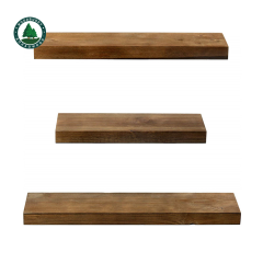 Factory Supply Wholesale Price Decorative Ins Style Wooden Wall Mounted Shelves for Living Room
