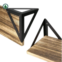 Natural Color Solid Pine Wood Board Panel for Floating Shelves