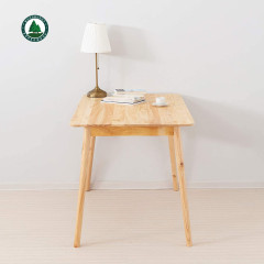 Solid Wood Kitchen Table Rectangular Dining Table Study Table Computer Table for Home Office Furniture Natural Pine Wood
