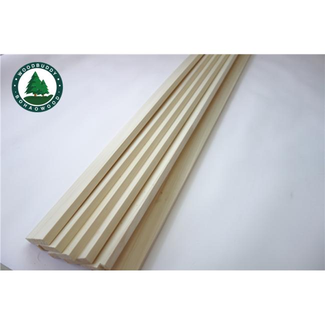 Poplar Slats for Bed frame and Bed Slats Solid Poplar Wood Rustic