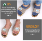 Chinese Style Foot Massage Stone Slippers Flipflops Foot Masager