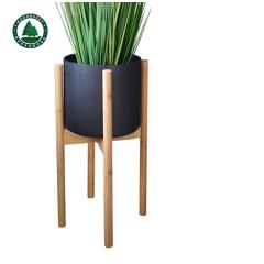 Cross Shaped Wooden Flower Pot Stand Original Manufacturer