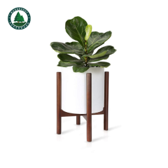 Super Simple Style Adjustable Bamboo Wood Plant Stand
